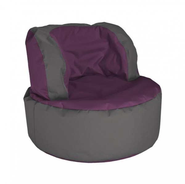 Sitzsack Chill and Seat aubergine