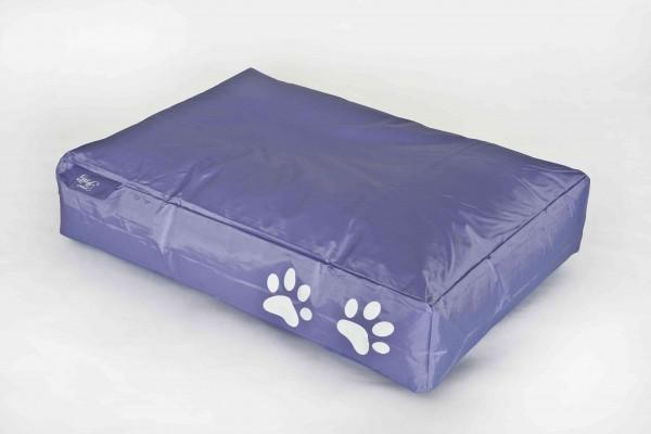 Fritz-Sitzsack Dog Bed lila