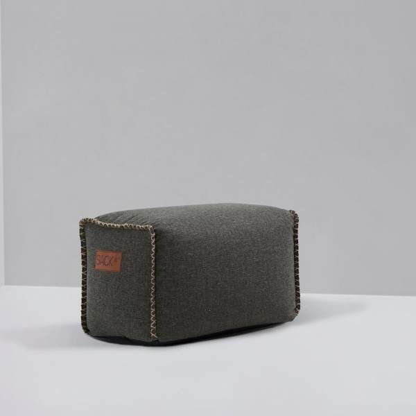 SACK it RETROit Square Drum - Grey
