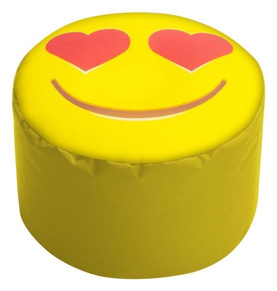 Sitzsack Punkt SMILE Herzaugen