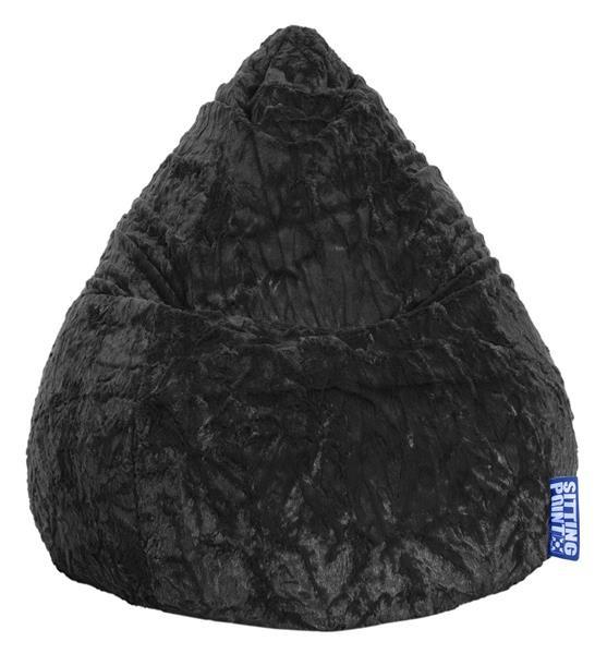 Sitzsack FLU L schwarz