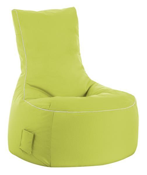 Fritz-Sitzsack Sitting Boy limegrün