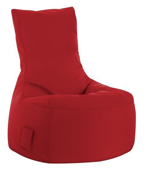 Fritz-Sitzsack Sitting Boy rot