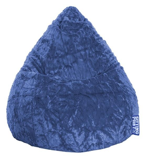 Sitzsack Flu L blau