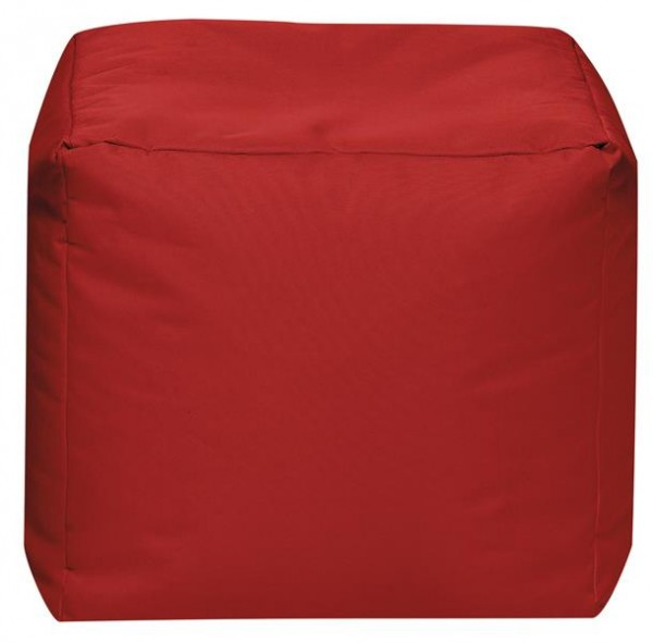 Sitzsack Cube Sunny rot