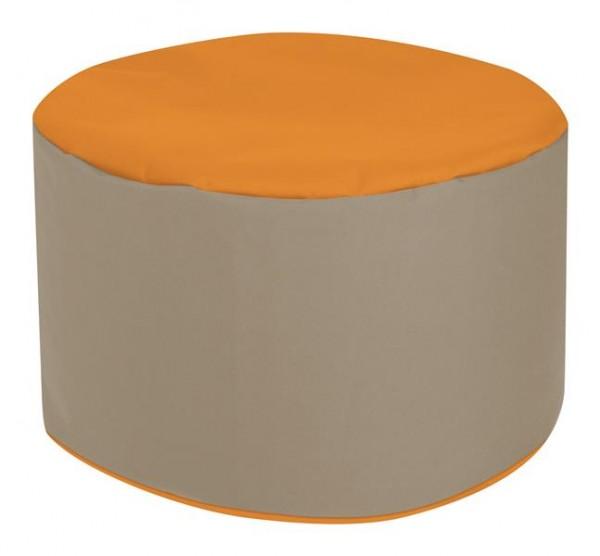 Sitzsack Punkt Sitzsack orange