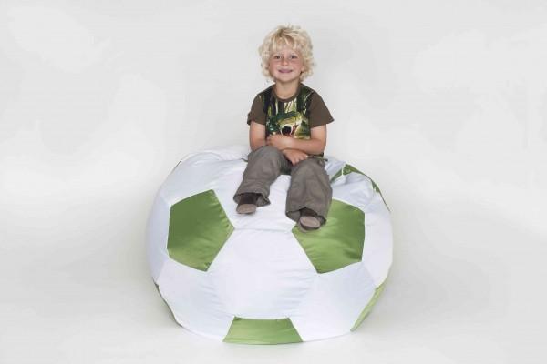 Fritz-Sitzsack Fussball grün